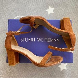 Stuart Weitzman Nearly Nude Bambina Nappa Sandal